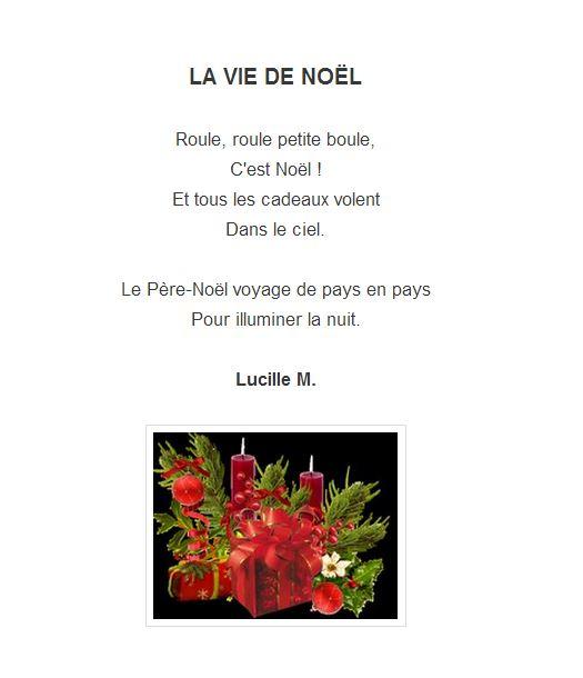 Lucille M. - la vie de Noel