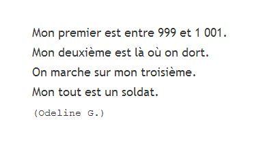 Odeline G. charade 1