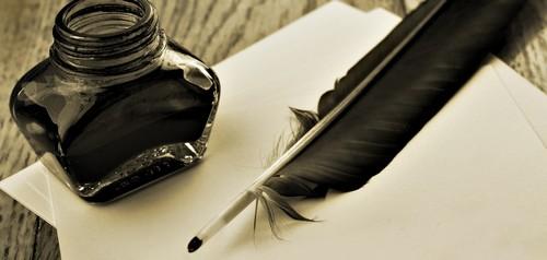 plume d'ecriture