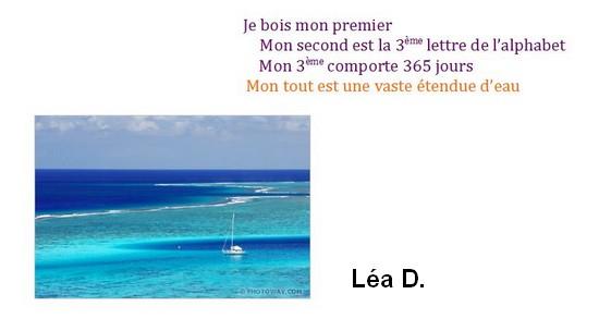 Charade 7-Lea D