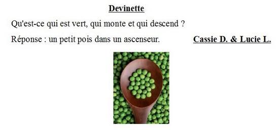 Devinette-Cassie D Lucie L